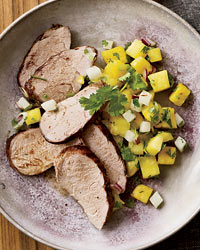 spring pork tenderloin recipe