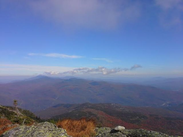 View from Camel's Hump in Vermont